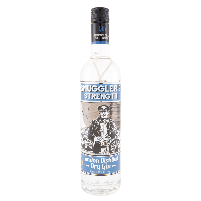 Smuggler's Strenght Gin - 70cl